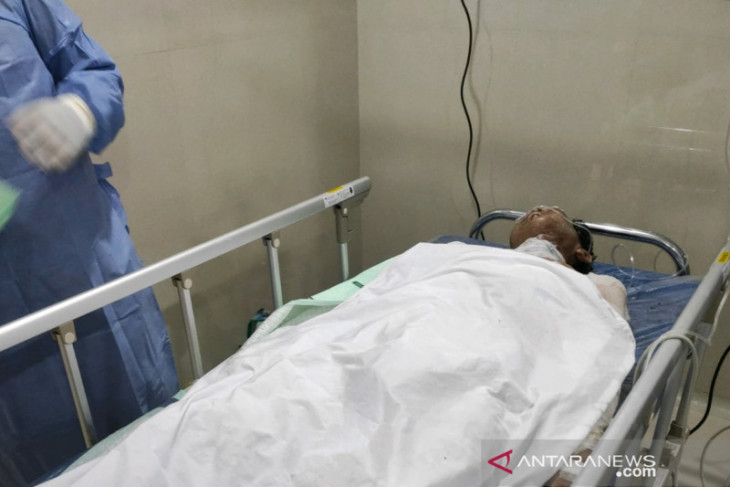 Lansia alami luka bakar akibat elpiji meledak