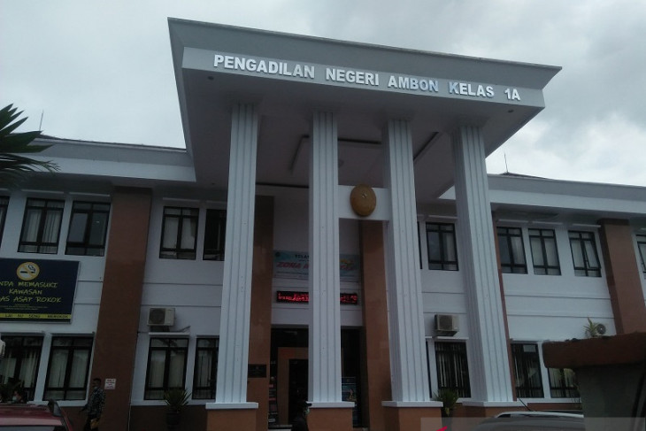 Hakim PN Ambon vonis terdakwa pembunuhan 12 tahun penjara tegakkan hukum