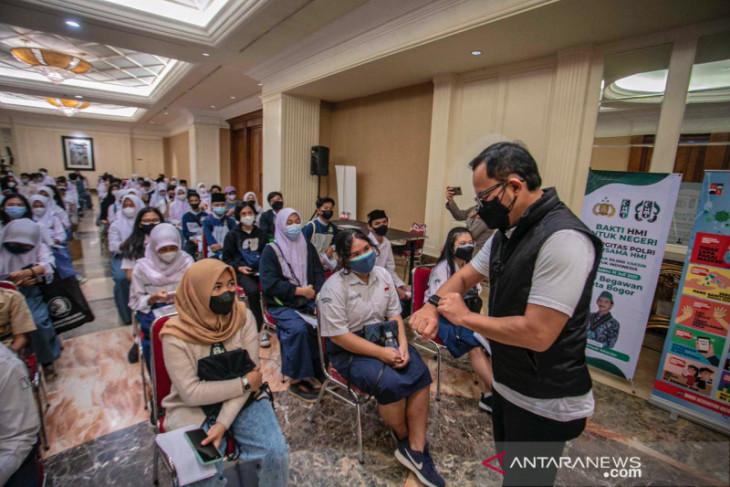 Dinkes Kota Bogor dan Alumni Akpol gelar vaksinasi massal 2.598 remaja