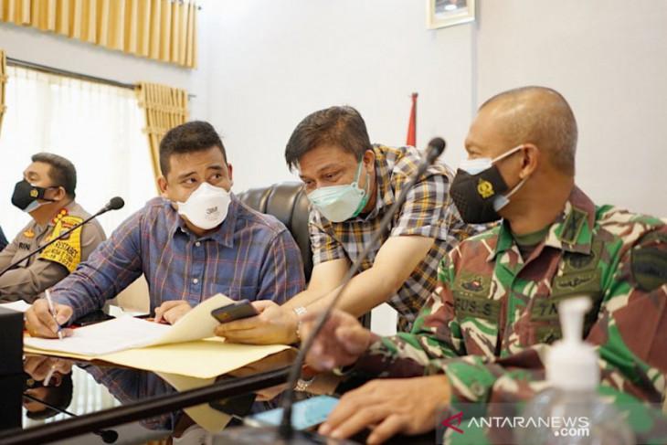 Pemkot Medan minta rumah sakit sediakan 30 persen tempat tidur bagi pasien COVID-19