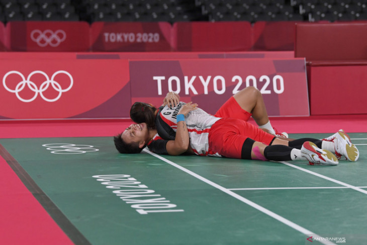 Ini cerita dibalik kesuksesan emas Olimpiade Tokyo Greysia/Apriyani