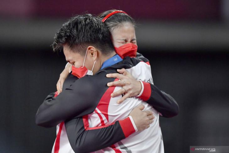 Jalan Greysia/Apriyani menuju  emas Olimpiade Tokyo