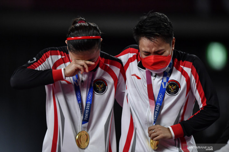 Olimpiade Tokyo: Indonesia sementara penuhi target peringkat