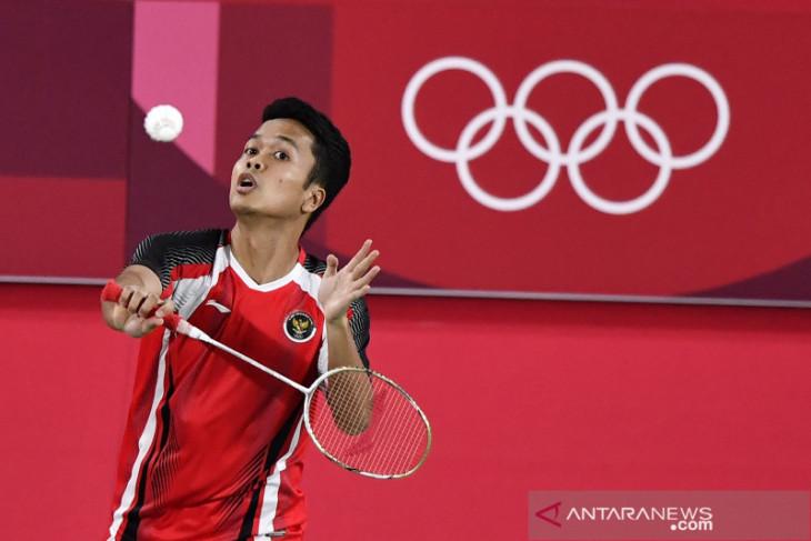 Ginting raih medali perunggu di Olimpiade Tokyo 2020