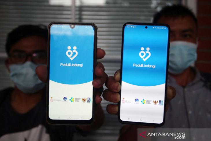 Sandiaga Uno minta pemda terapkan prokes gunakan aplikasi Peduli Lindungi