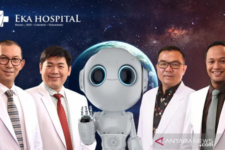 Eka Hospital hadirkan robot navigasi tangani penyakit skoliosis pertama di Indonesia