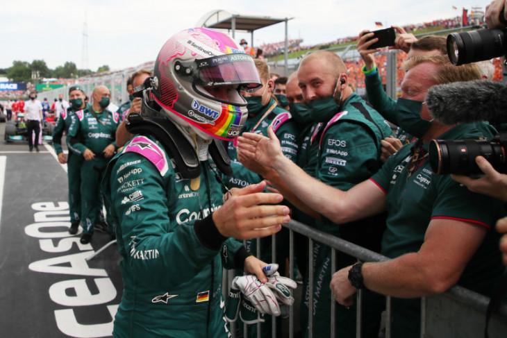 Langgar aturan bahan bakar Vettel kena diskualifikasi di Formula 1 GP Hungaria