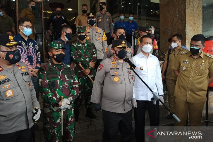 Wakapolri: Penerapan PPKM sukses di Kota Medan