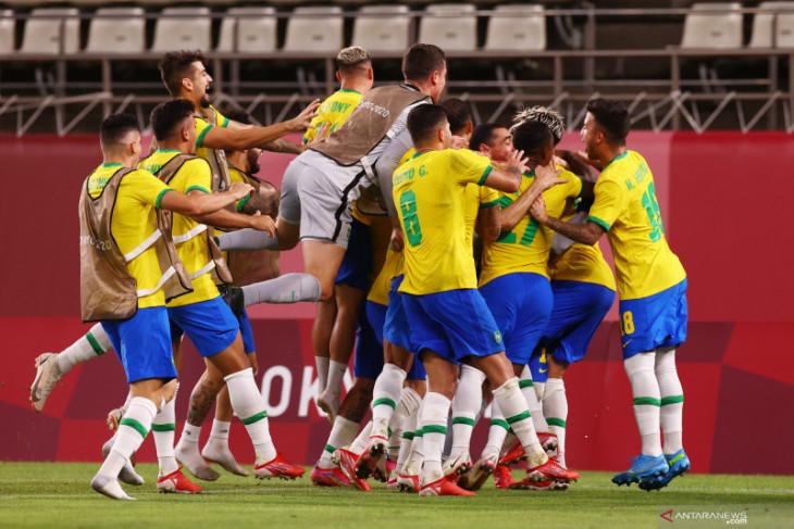 Olimpiade Tokyo: Brazil melaju ke final usai kalahkan Meksiko lewat adu penalti