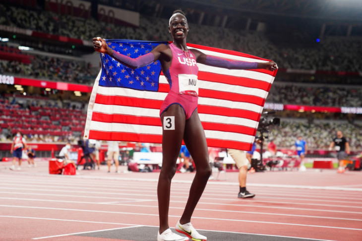 Olimpiade Tokyo, Athing Mu tuntaskan penantian emas AS dari 800m putri