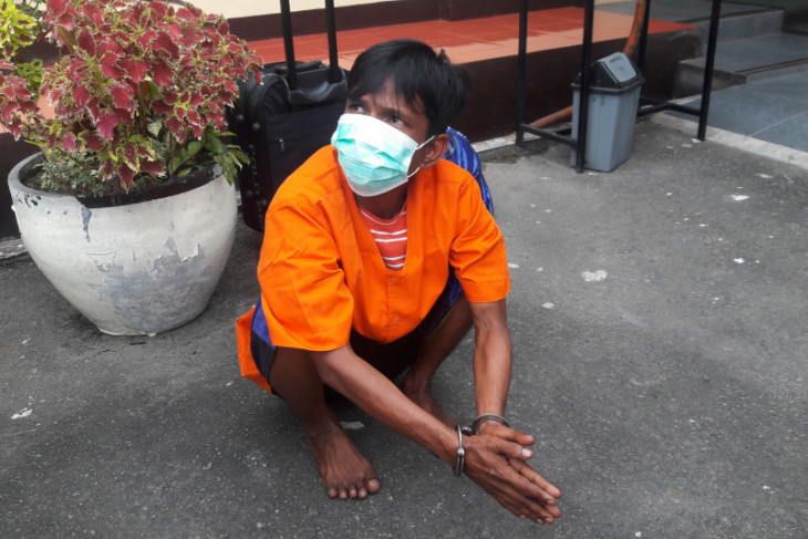Kurir ganja yang ditangkap Polres Langkat dapat upah Rp200 ribu per kilogramnya