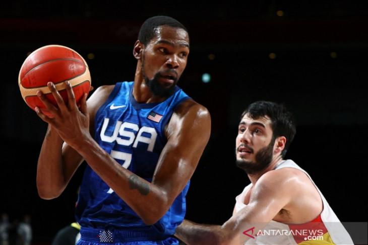 Amerika singkirkan Spanyol di perempat final basket putra olimpiade