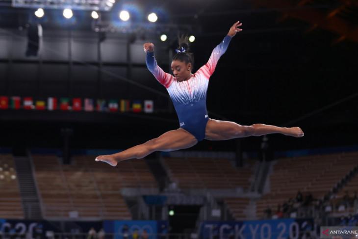 Simone Biles alami masalah kesehatan mental sebelum Olimpiade