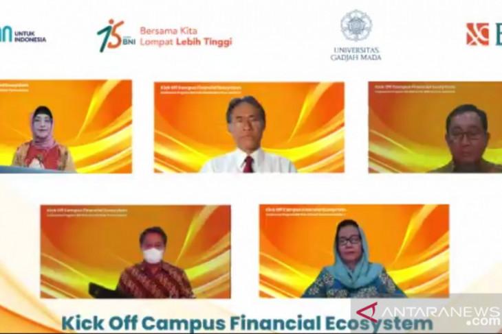 BNI jadikan UGM penerapan ekosistem finansial kampus terintegrasi
