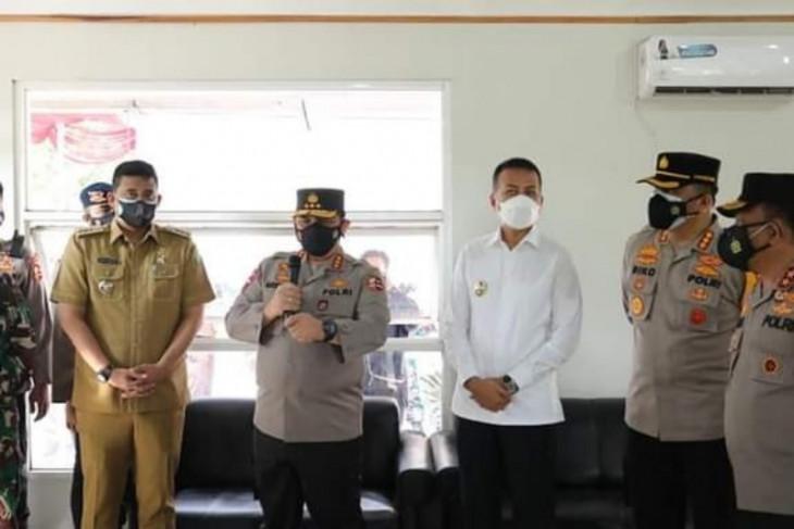 Waka Polri apresiasi warga Menteng Indah  Medan tangani COVID-19