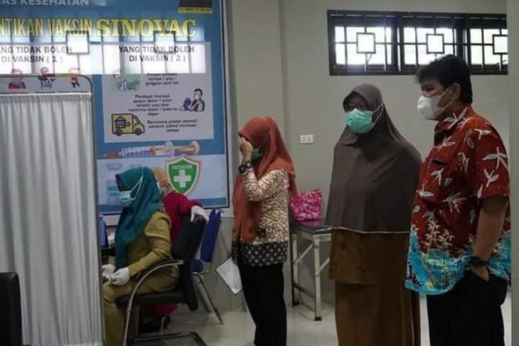 Vaksinasi dosis 2 dimulai lagi di Tebing Tinggi