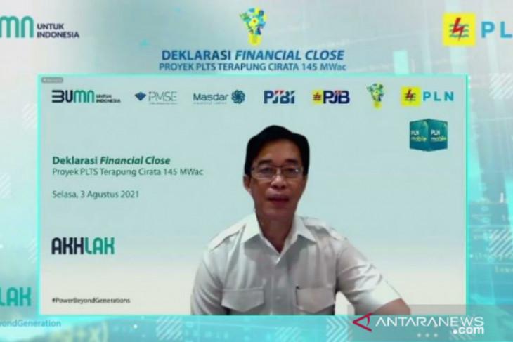 Raih pendanaan 3 Bank Internasional, konstruksi PLTS Terapung terbesar di Asia Tenggara dimulai