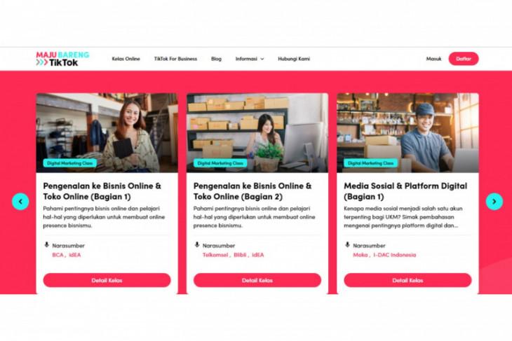 TikTok beri akses edukasi pemasaran digital gratis  untuk UMKM