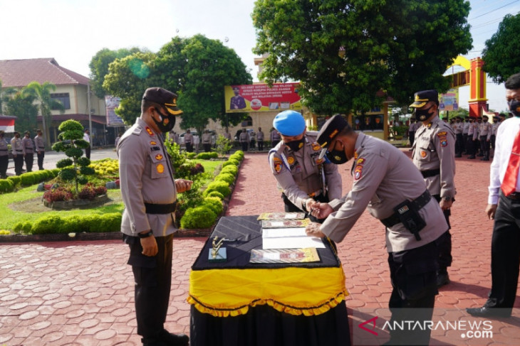 Seluruh Personel Polres Asahan ikrar anti narkoba