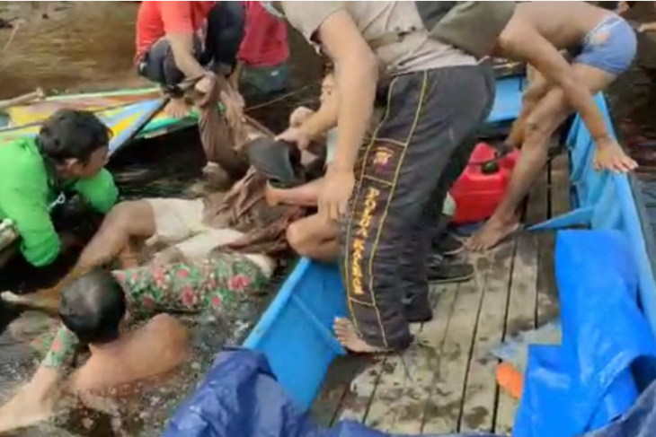 Sepasang suami istri tewas tenggelam di kawasan Danau Sentarum