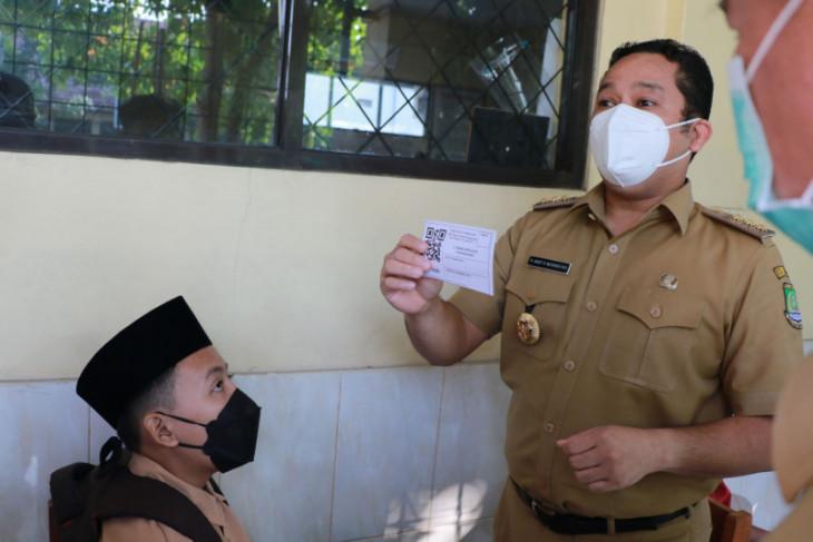 Sebanyak  917.407 warga Kota Tangerang sudah divaksin dosis pertama