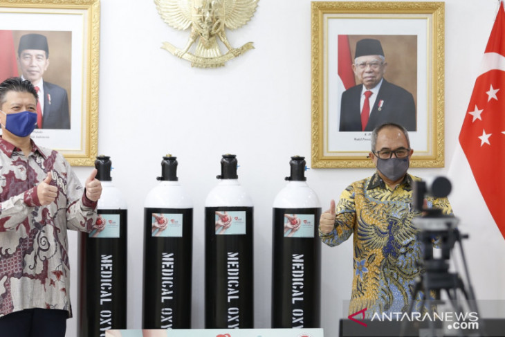 Indonesia to receive donation of 532 oxygen cylinders from UOB