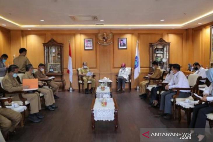 Gubernur dan Kepala BPK RI Babel Bahas Entry Meeting Pemeriksaan Pengelolaan Vaksinasi