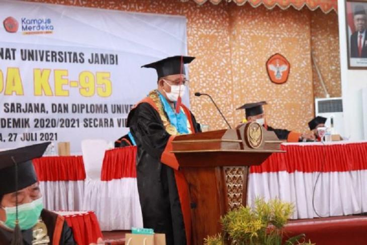 Rektor doakan keluarga besar Unja yang tengah berjuang melawan COVID-19