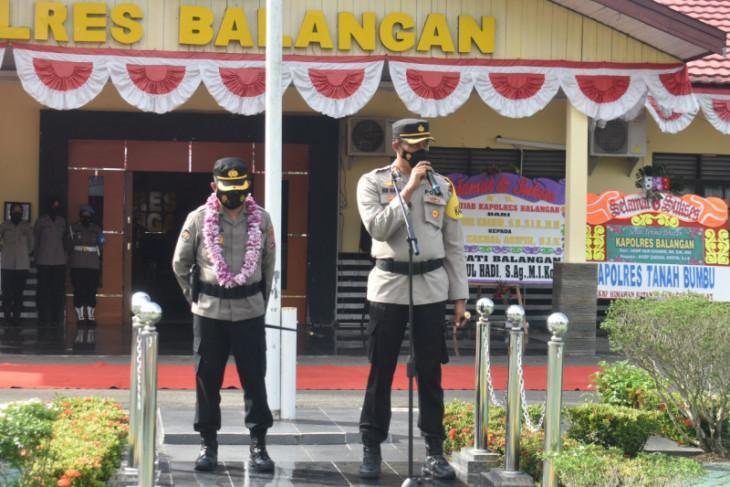 AKBP Nur Khamid torehkan sejumlah prestasi saat jabat Kapolres Balangan