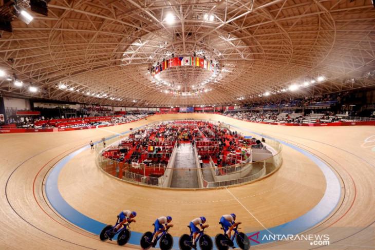 Olimpiade Tokyo: Italia pecahkan rekor dunia menangi emas balap sepeda beregu putra