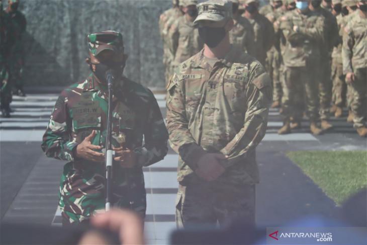 Ratusan prajurit TNI-AD & US Army terlibat latihan Garuda Shield XV