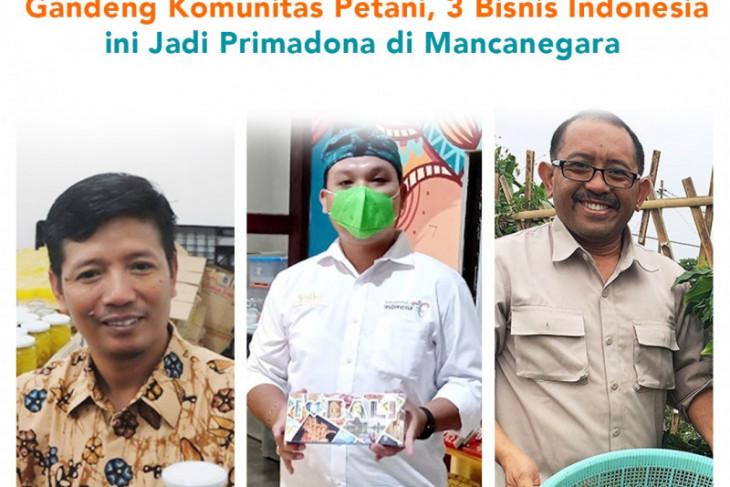 Gandeng petani, 3 pebisnis Indonesia ini jadi primadona mancanegara