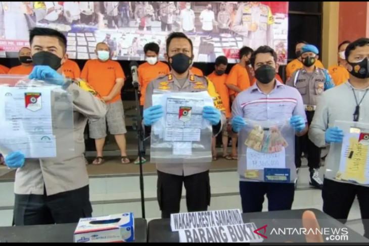 Polresta Samarinda amankan pemalsu surat vaksin dan PCR