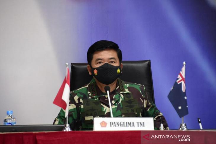 Panglima Hadi pastikan pandemi COVID-19 tak hambat kerja sama TNI dan ADF