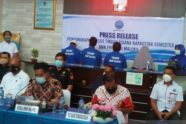BNNP Maluku ringkus 14 pelaku narkoba begini penjelasannya