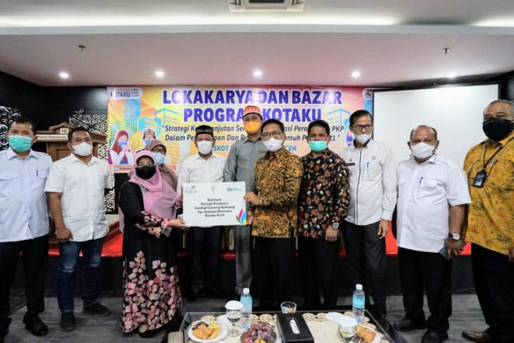 PLN UIW Aceh bantu Rumah Produksi  Sambal Goreng Kentang di Banda Aceh