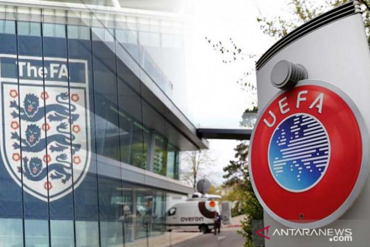 UEFA siapkan sanksi untuk sepak bola Inggris
