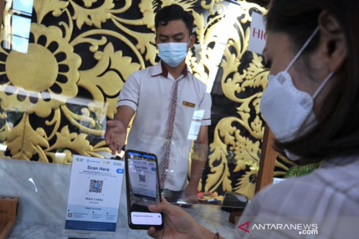 Kawasan wisata The Nusa Dua terapkan aplikasi PeduliLindungi