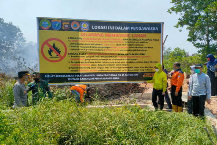 Wali Kota Pontianak minta lurah dan camat awasi wilayahnya cegah Karhutla