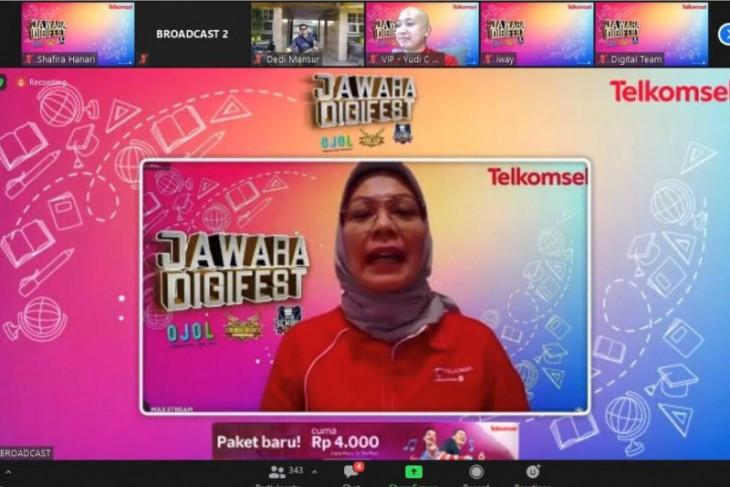 Telkomsel Jawara Digifest gelar OJOL, hadirkan pengalaman seru belajar jarak jauh