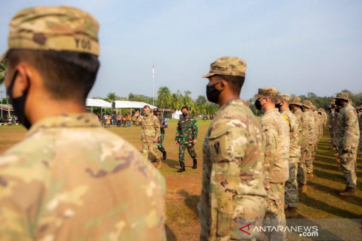 Jenderal TNI Andika-Jenderal Flynn membuka Latihan Garuda Shield ke-15