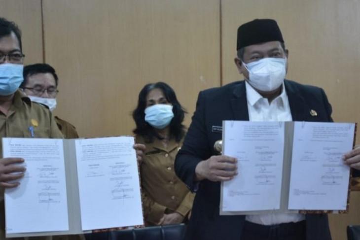 DPRD setujui pertanggungjawaban APBD 2020 Pemkab Dairi