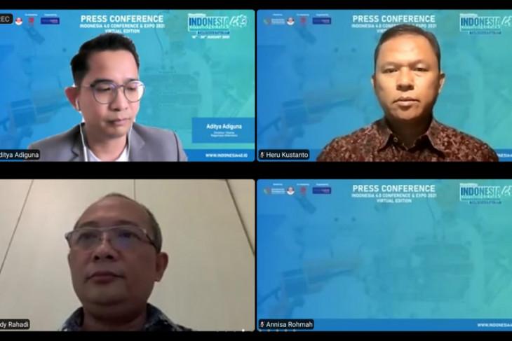 Indonesia 4.0 Conference & Expo 2021 edisi virtual digelar