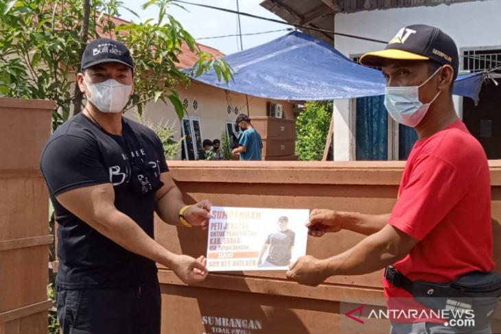 Kota Jambi peroleh sumbangan 100 peti mati dari Youtuber