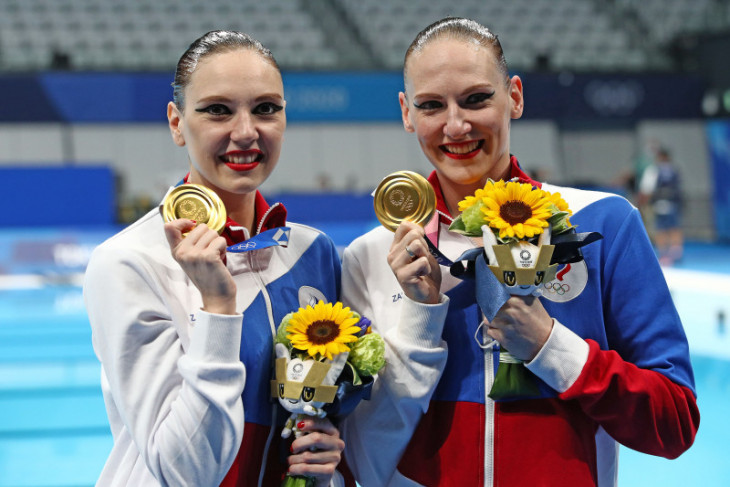 Romashina rebut emas Olimpiade keenam, catatkan sejarah renang indah