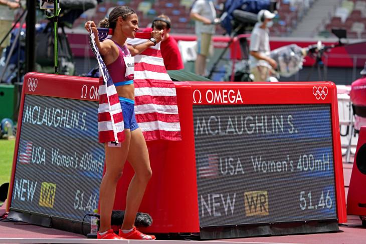 McLaughlin rebut emas dan pecahkan rekor lari gawang 400m putri