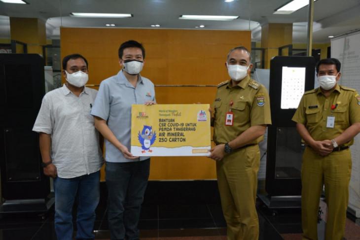 CSR bantuan COVID-19 terus mengalir ke Pemkab Tangerang