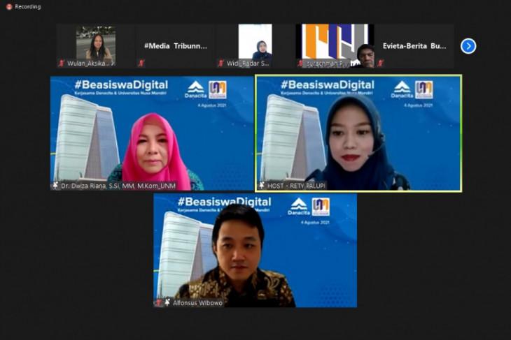 Danacita dan Universitas Nusa Mandiri siapkan beasiswa digital Rp3,6 miliar