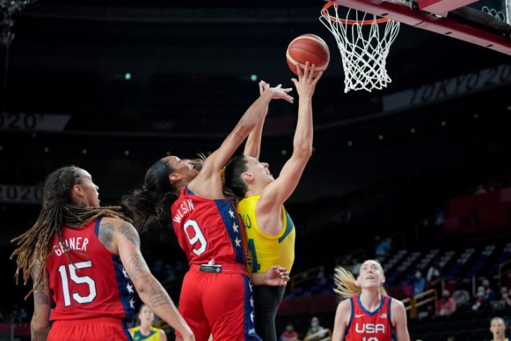 Tim basket putri AS tembus semifinal Olimpiade