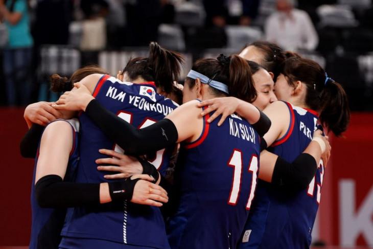 Olimpiade Tokyo, Tim voli putri Korea singkirkan Turki
